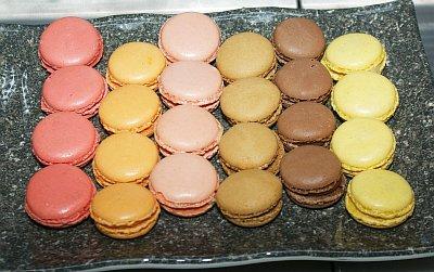 macarons der handelsfirma delifrance hergestellt in frankreich